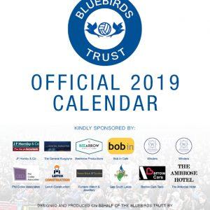 2019 Bluebirds Trust Calendar